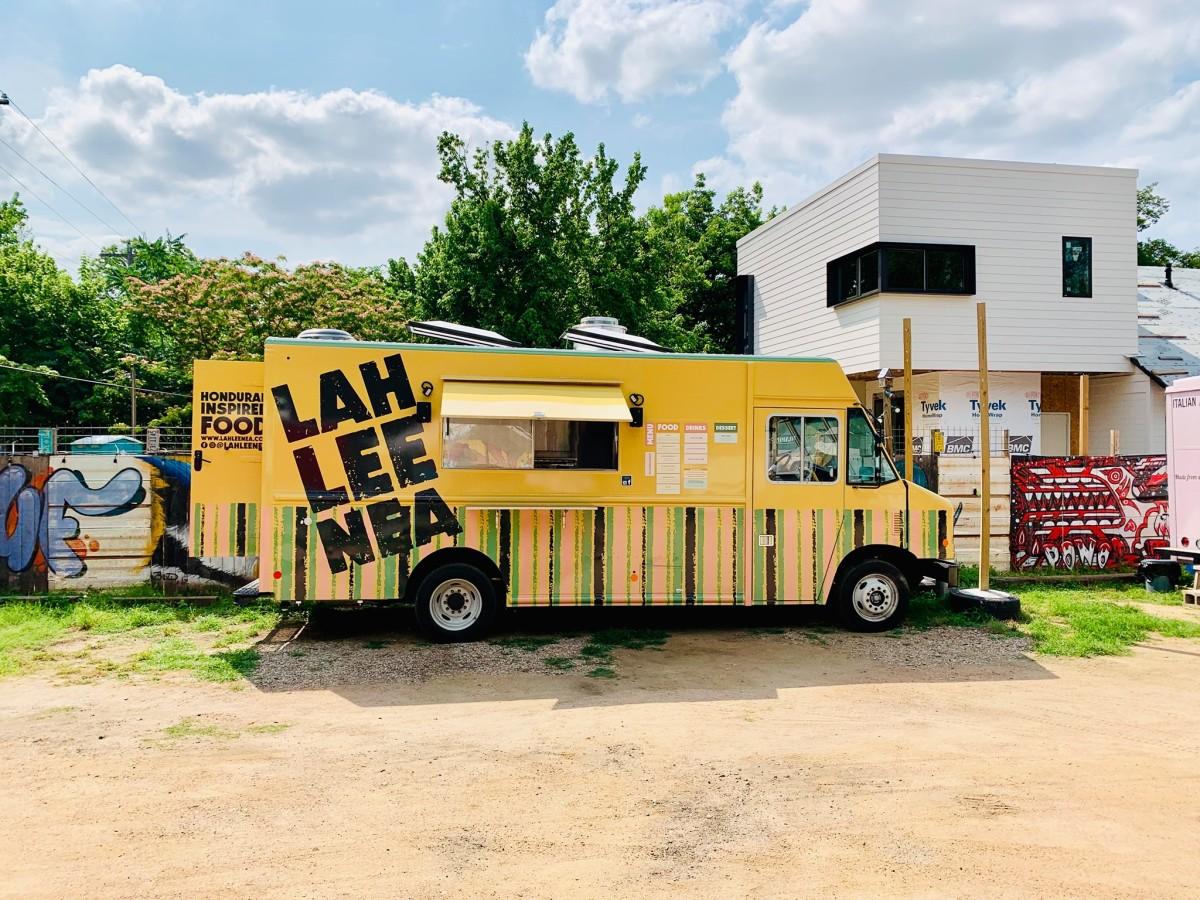 Lahleenea food truck east side