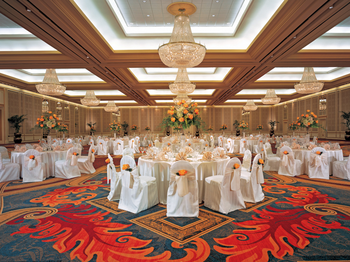 Hilton Anatole hotel ballroom