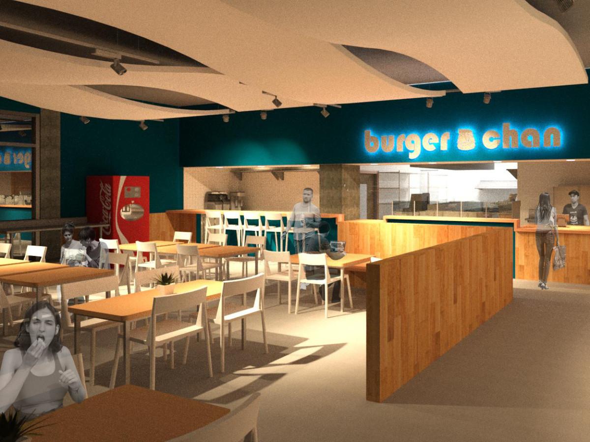 burger-chan Galleria rendering