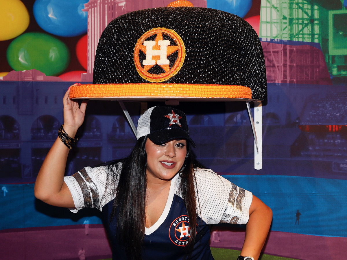 Candytopia Houston Astros hat