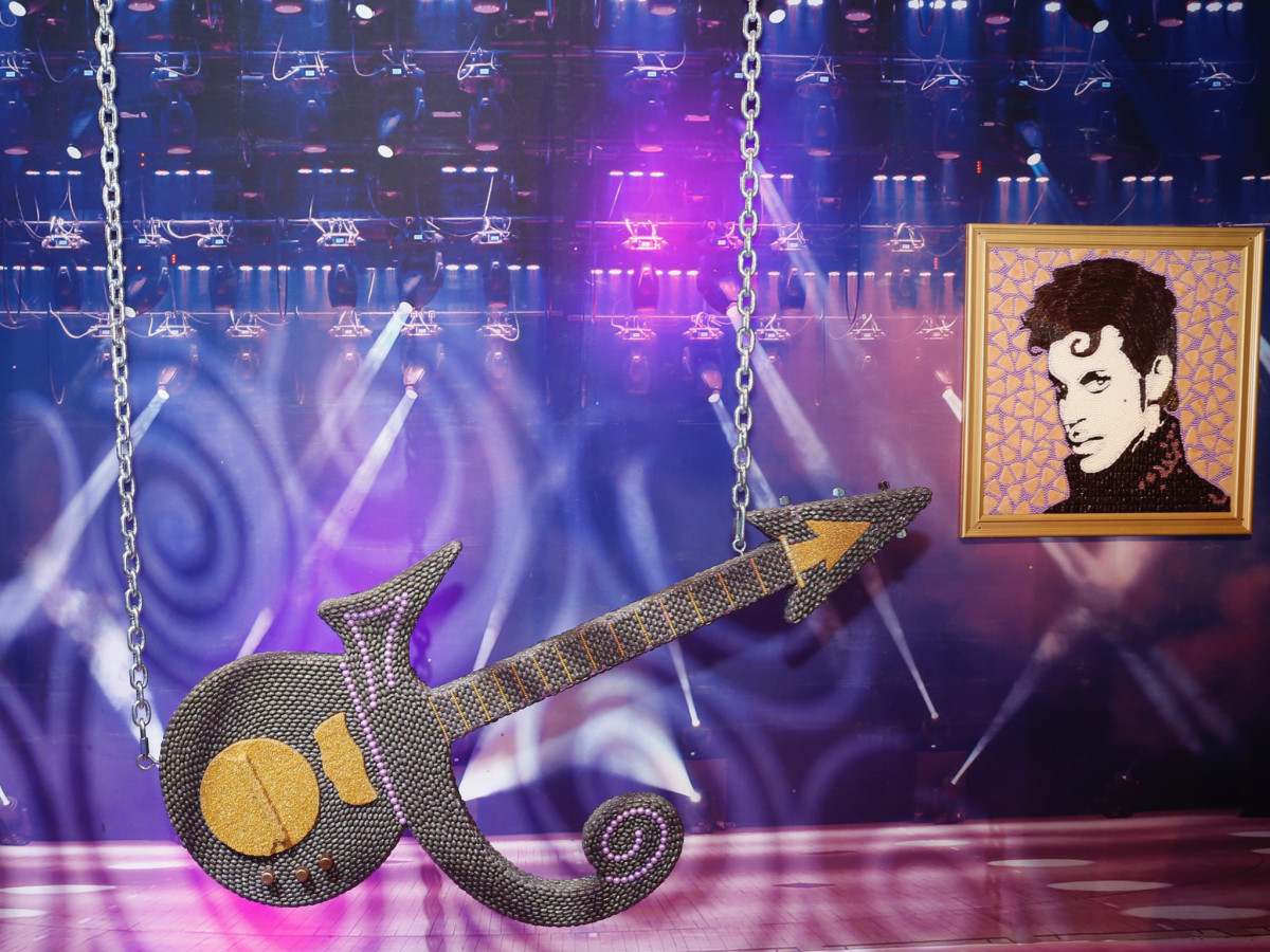 Candytopia Houston Prince guitar