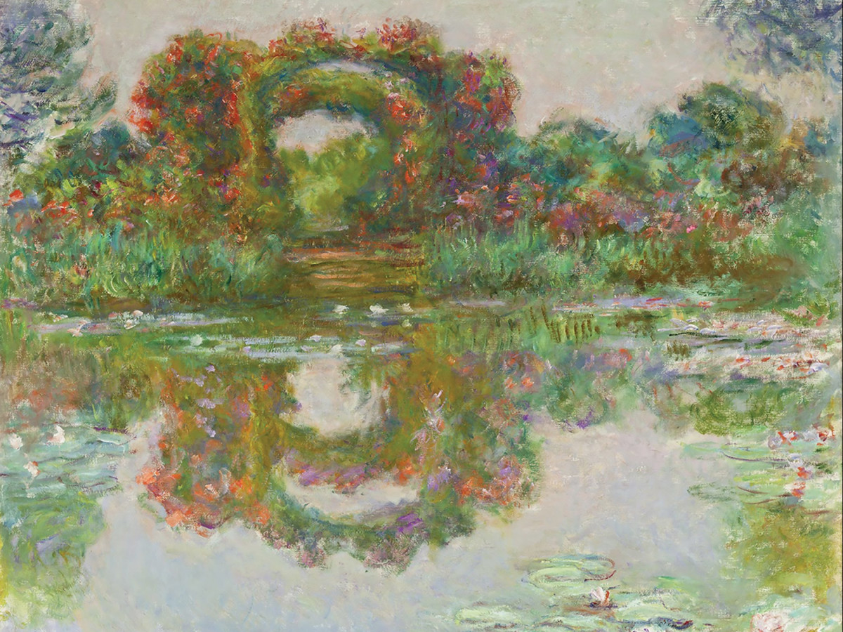 Monet, Flowering Arches Giverny