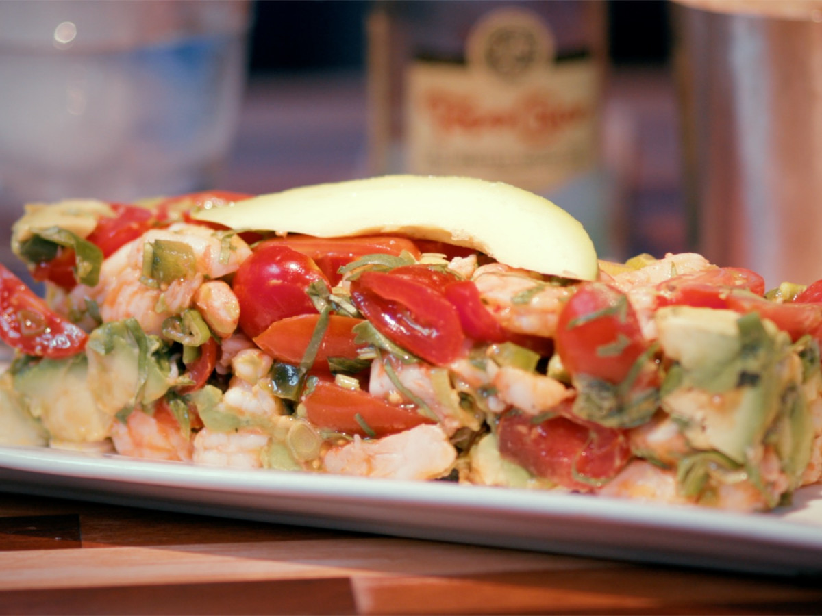 Mesero shrimp ceviche