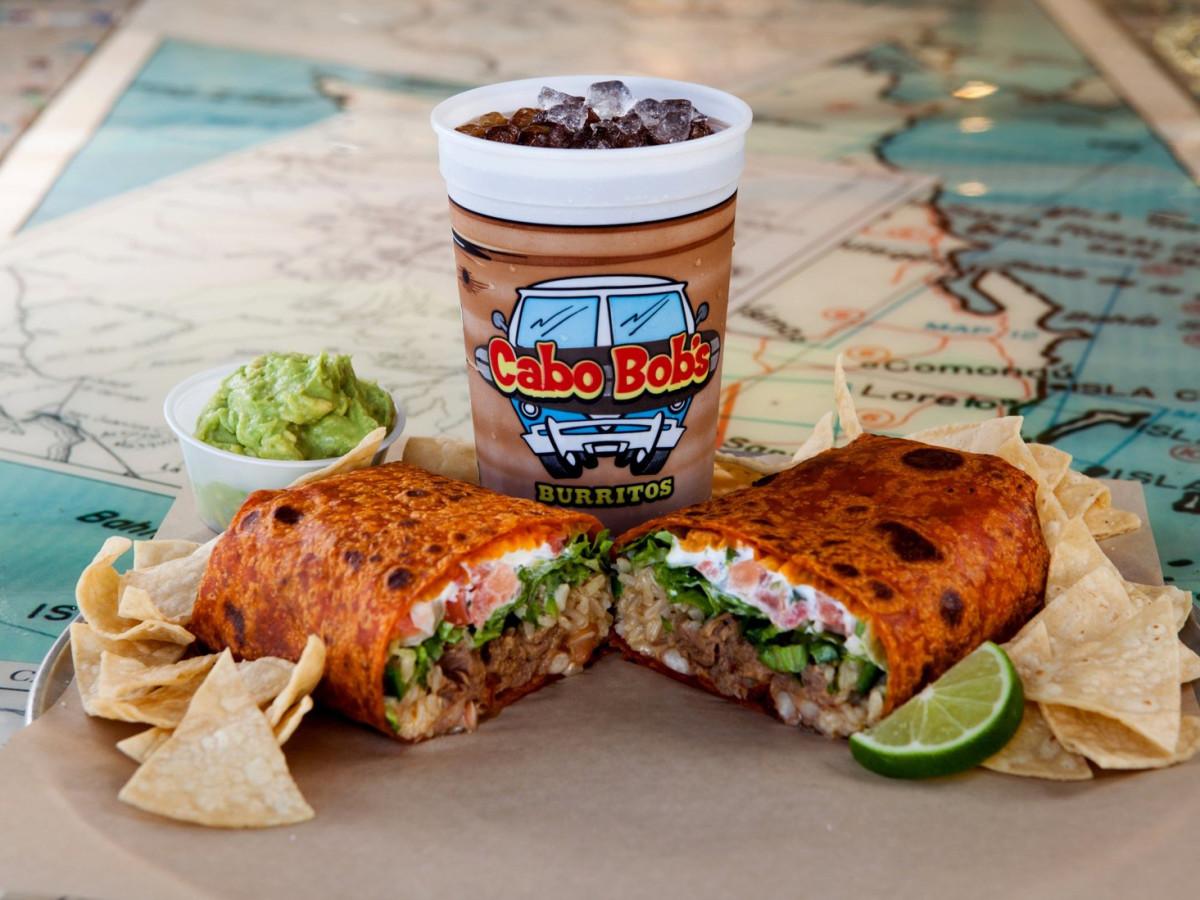 Cabo Bob's burrito