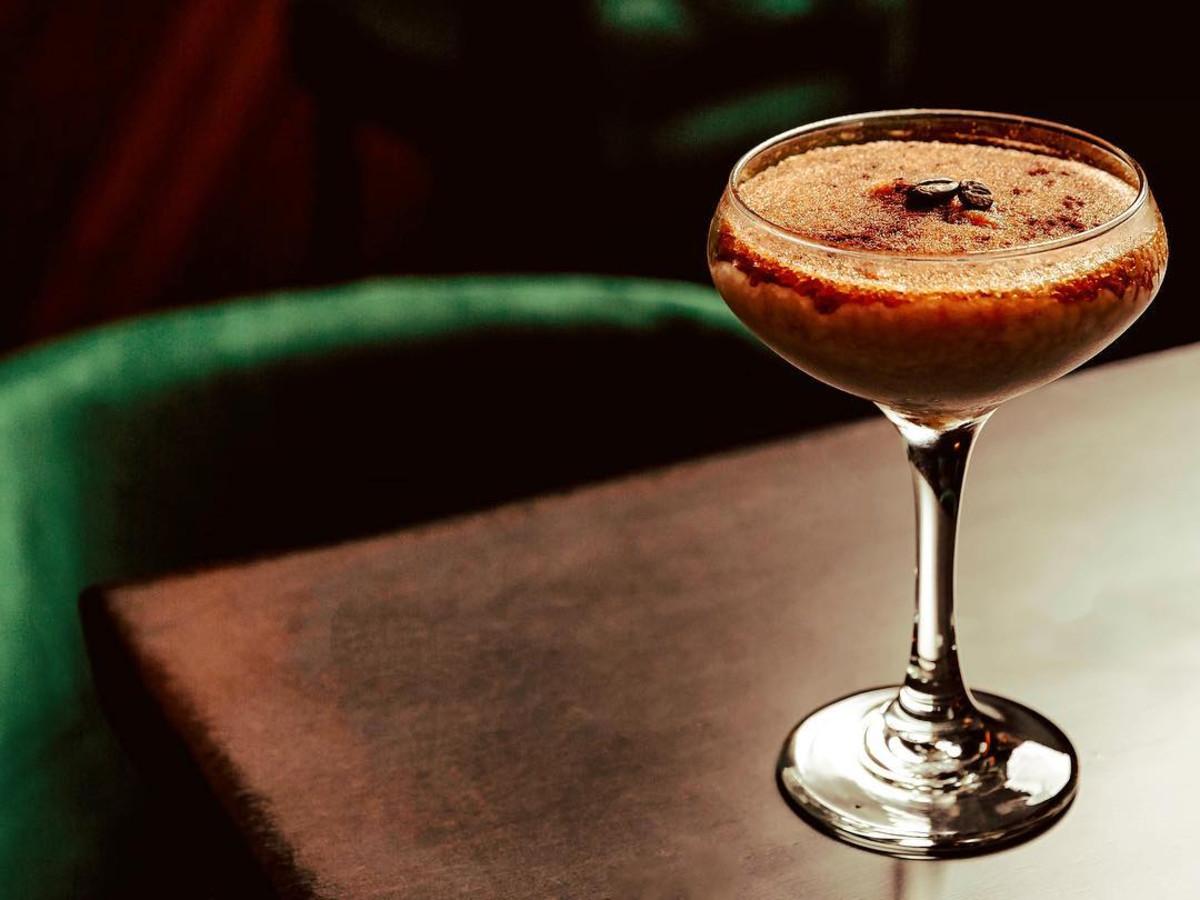 Veouria frozen espresso martini