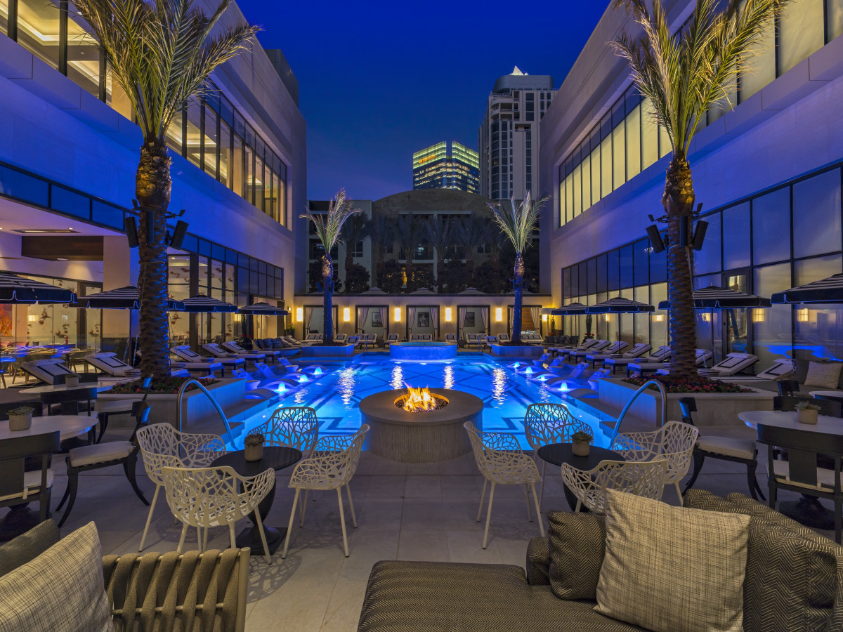 The Post Oak Hotel pool