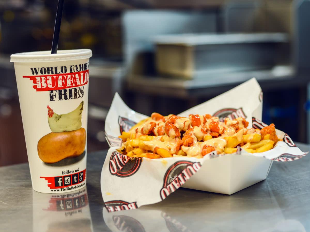 Buffalo Spot chicken fries