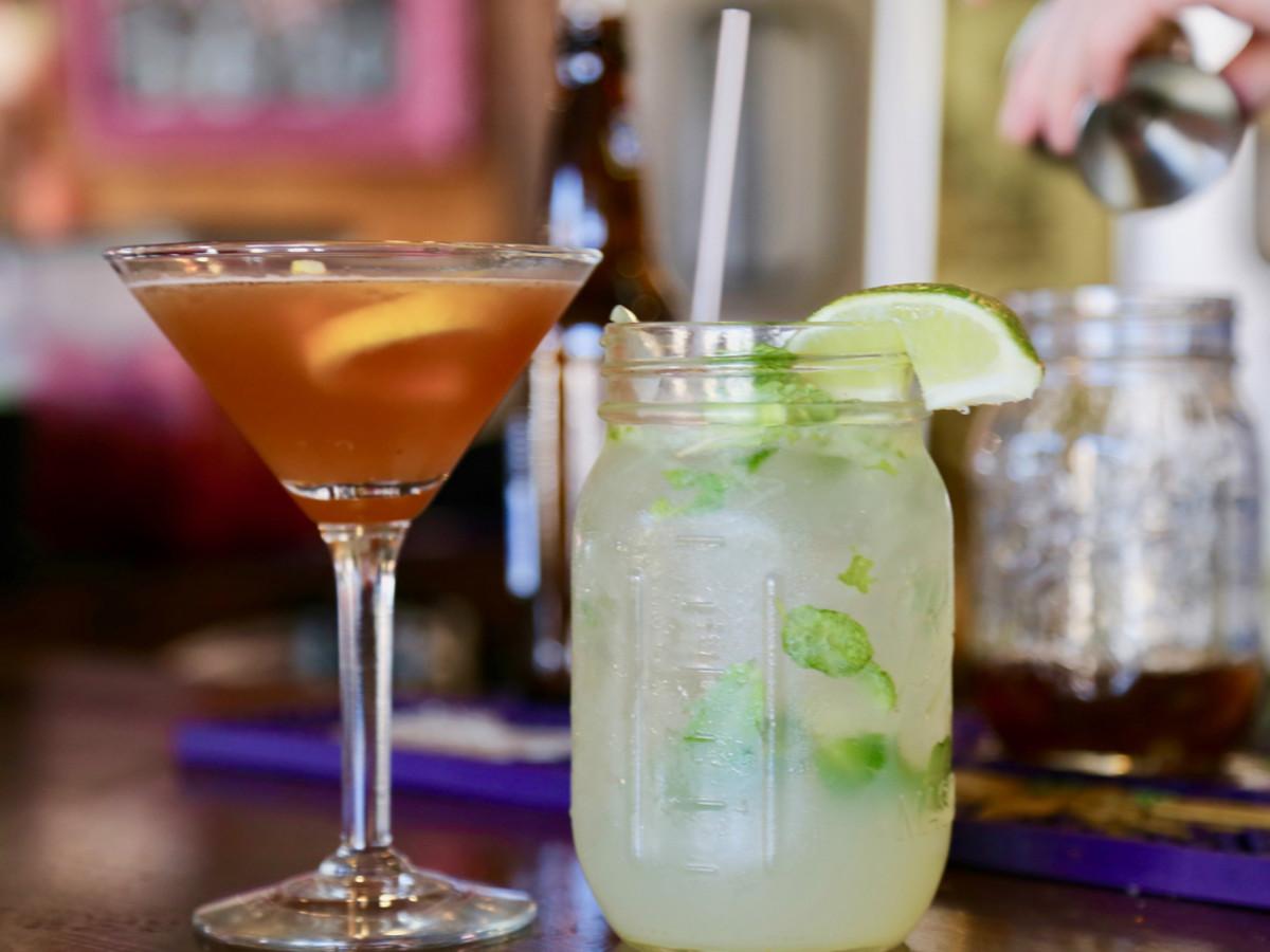 Hennessy Crusta and Gin Gin Mule