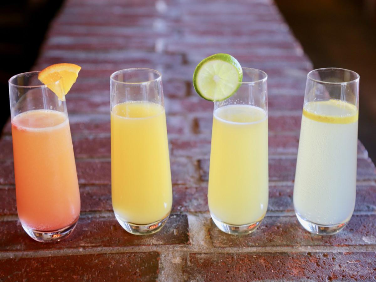 Quartet of mimosas