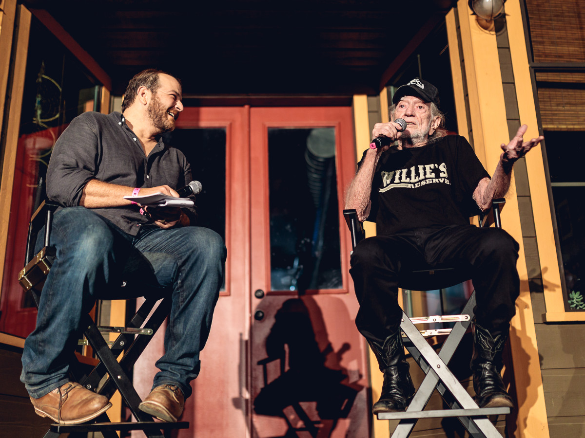 Luck Cinema Willie Nelson and Andy Langer Q&A