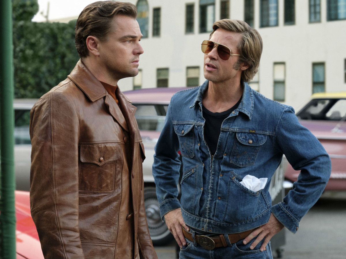 Leonardo DiCaprio and Brad Pitt in Once Upon a Time in ... Hollywood