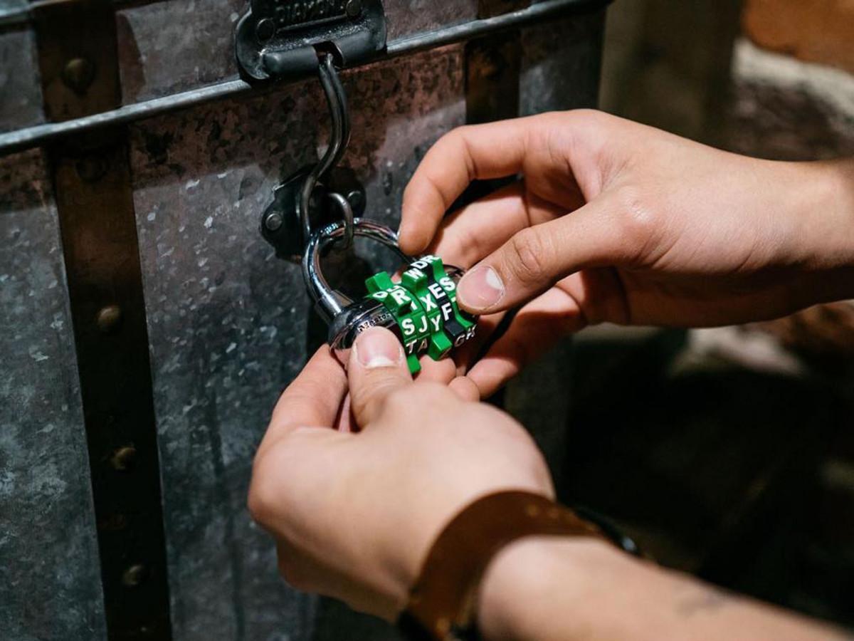 The Escape Game Austin lock puzzle room