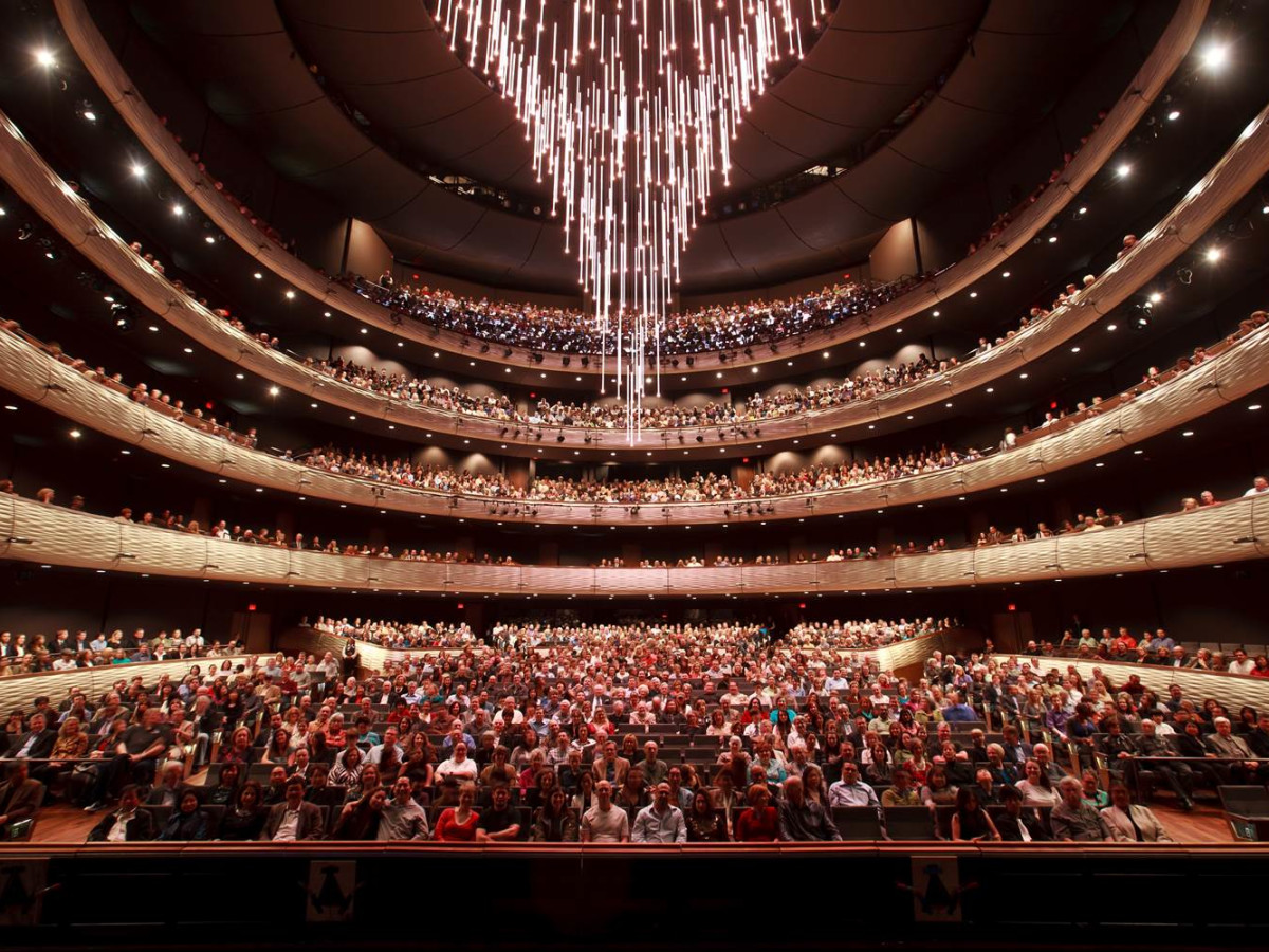 Winspear Opera House chandelier