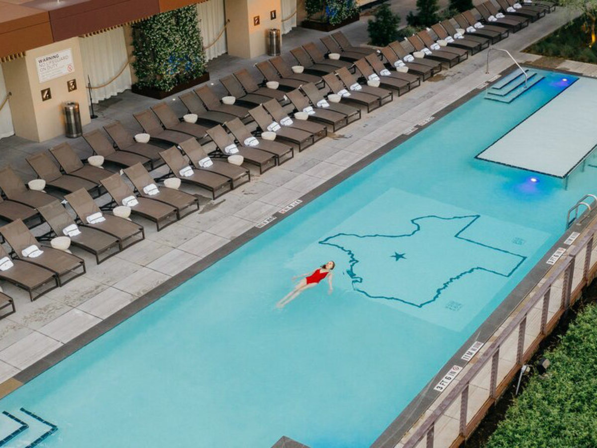 JW Marriott Austin Edge Pool