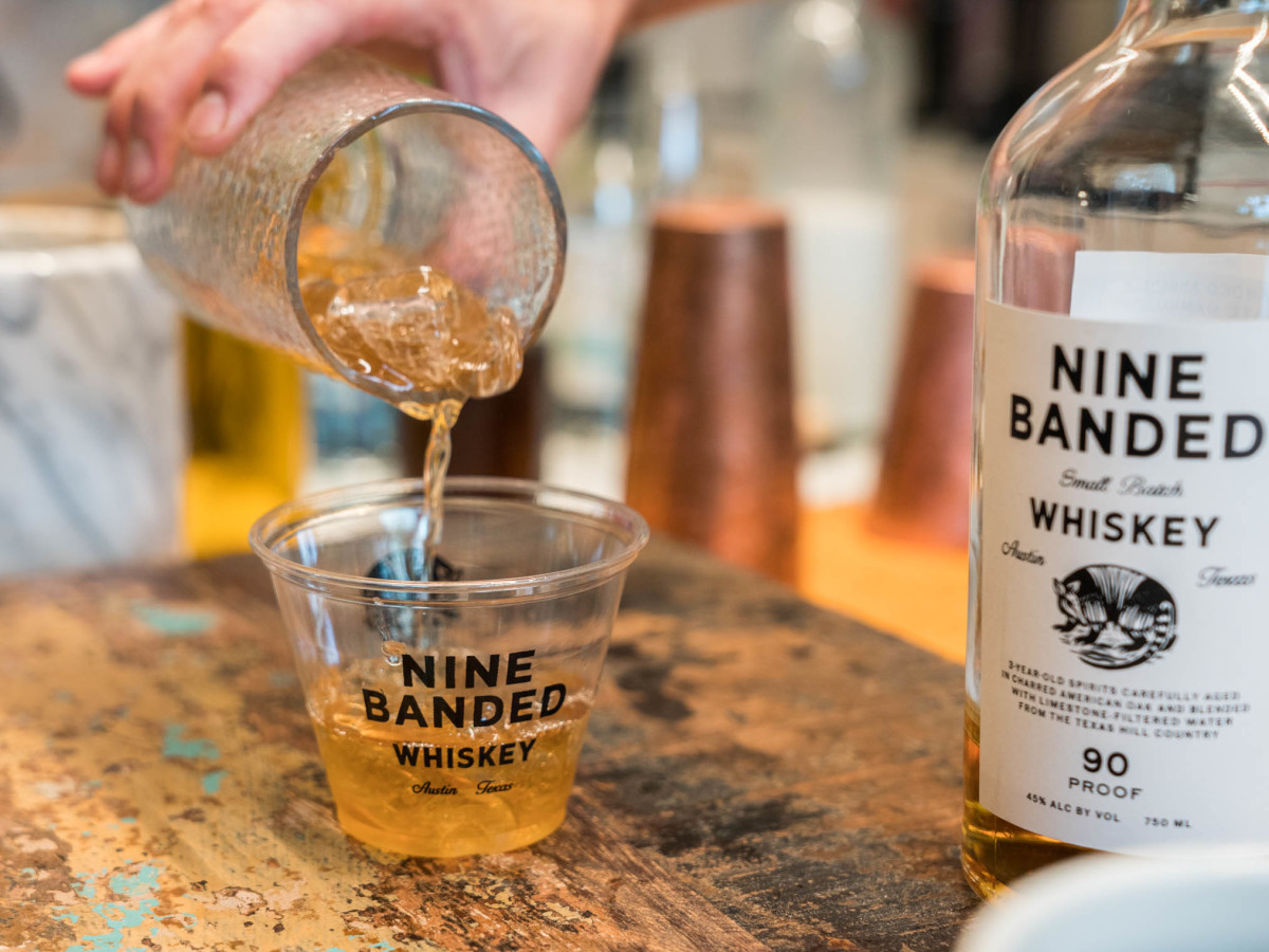 We Work Barton Springs Event Nine Banded Whiskey