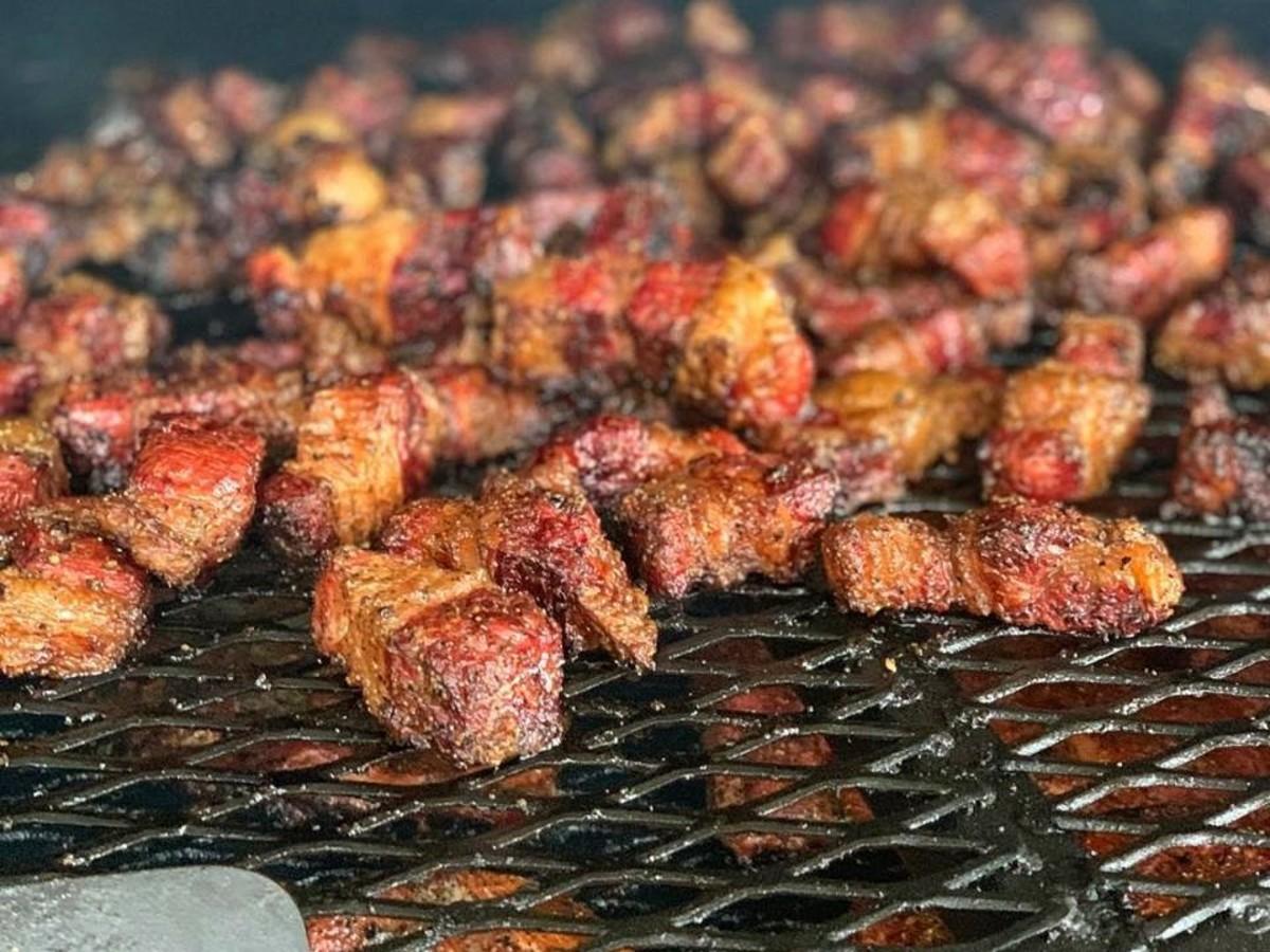 Hurtado Barbecue burnt ends