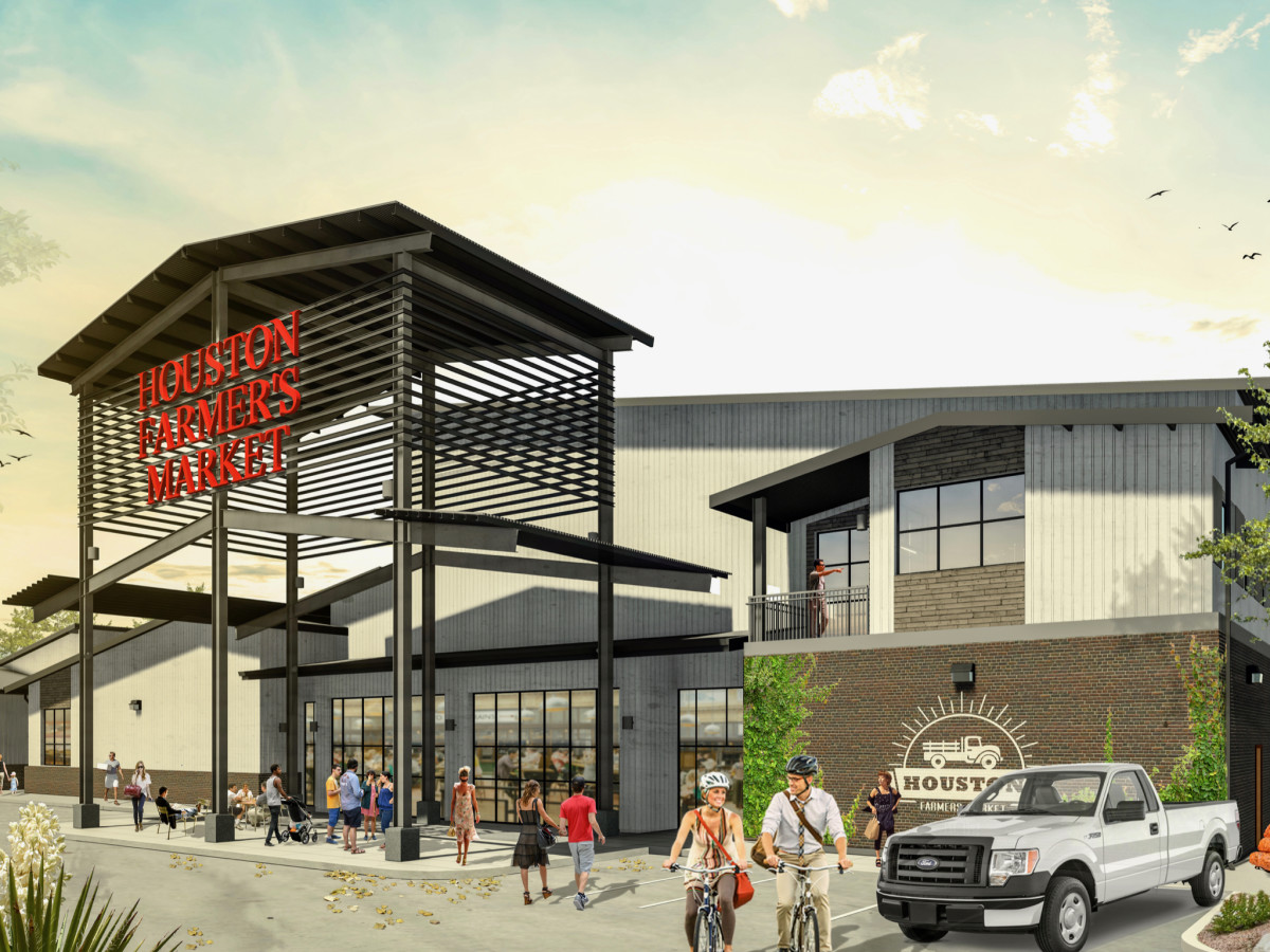 Houston Farmers Market entry rendering