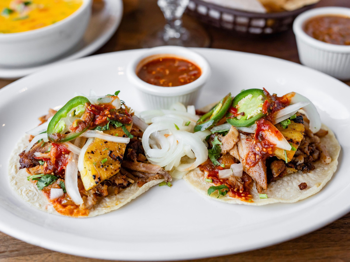 Mama Ninfa's Tacos y Tortas Pastor Tacos