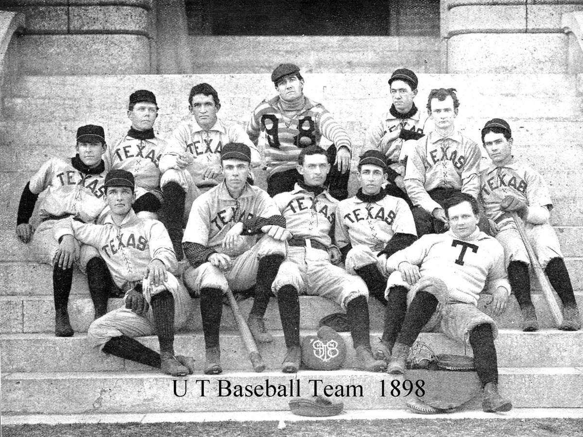 University of Texas baseball team 1898