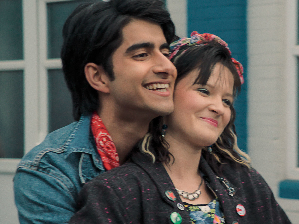 Viveik Kalra and Nell Williams in Blinded by the Light