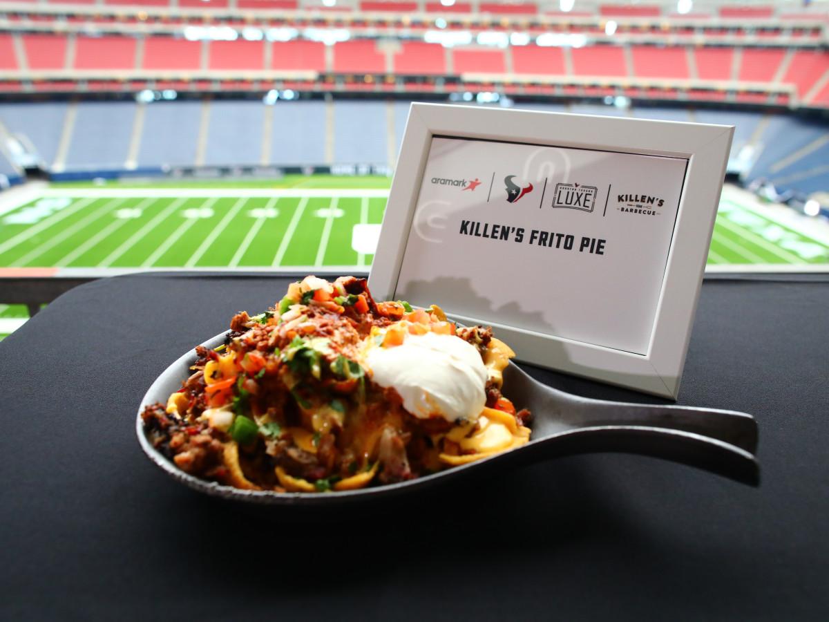 Houston Texans stadium food Ken Hoffman 2019