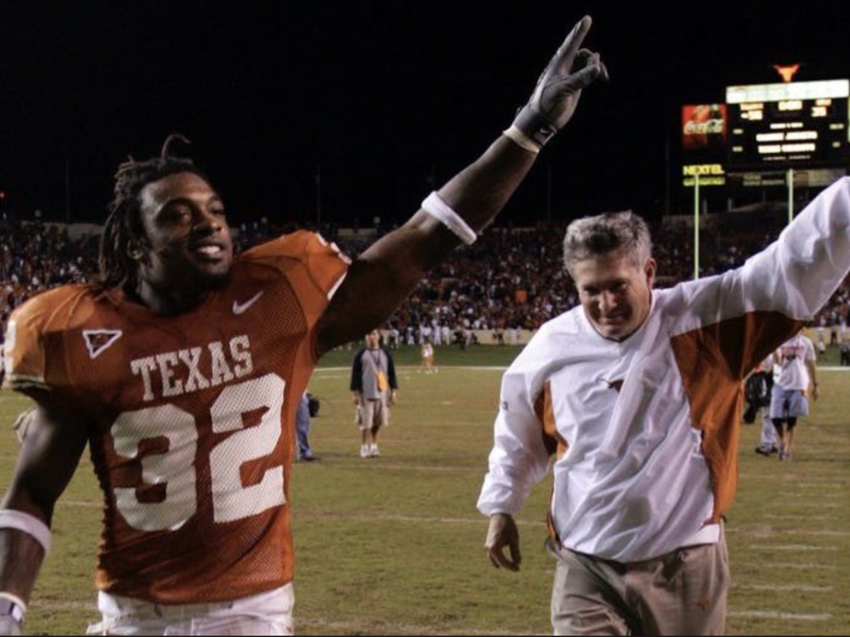 Cedric Benson Mack Brown
