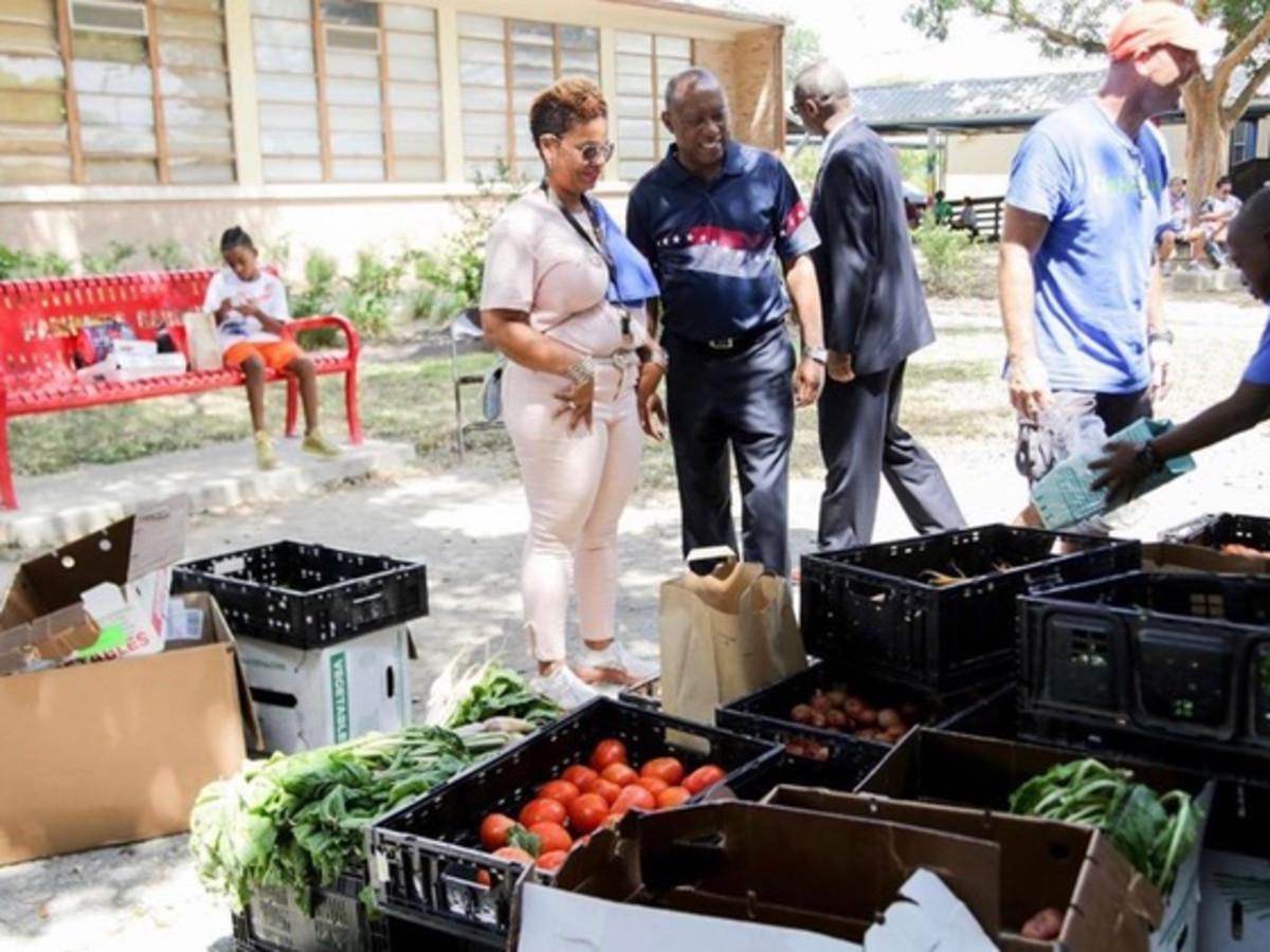 Kashmere Gardens farmers market Urban Harvest