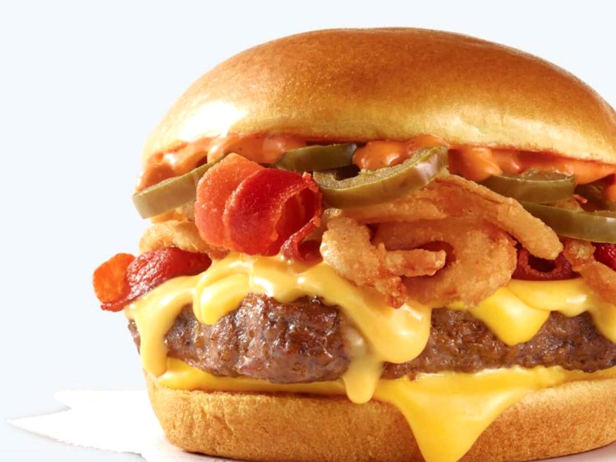 Drive-Thru Gourmet - Wendy's Bacon Jalapeno Cheeseburger
