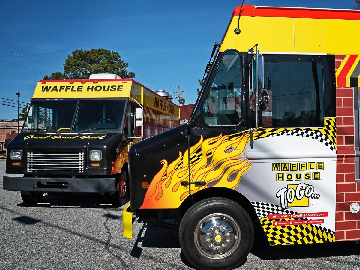 Waffle House trucks