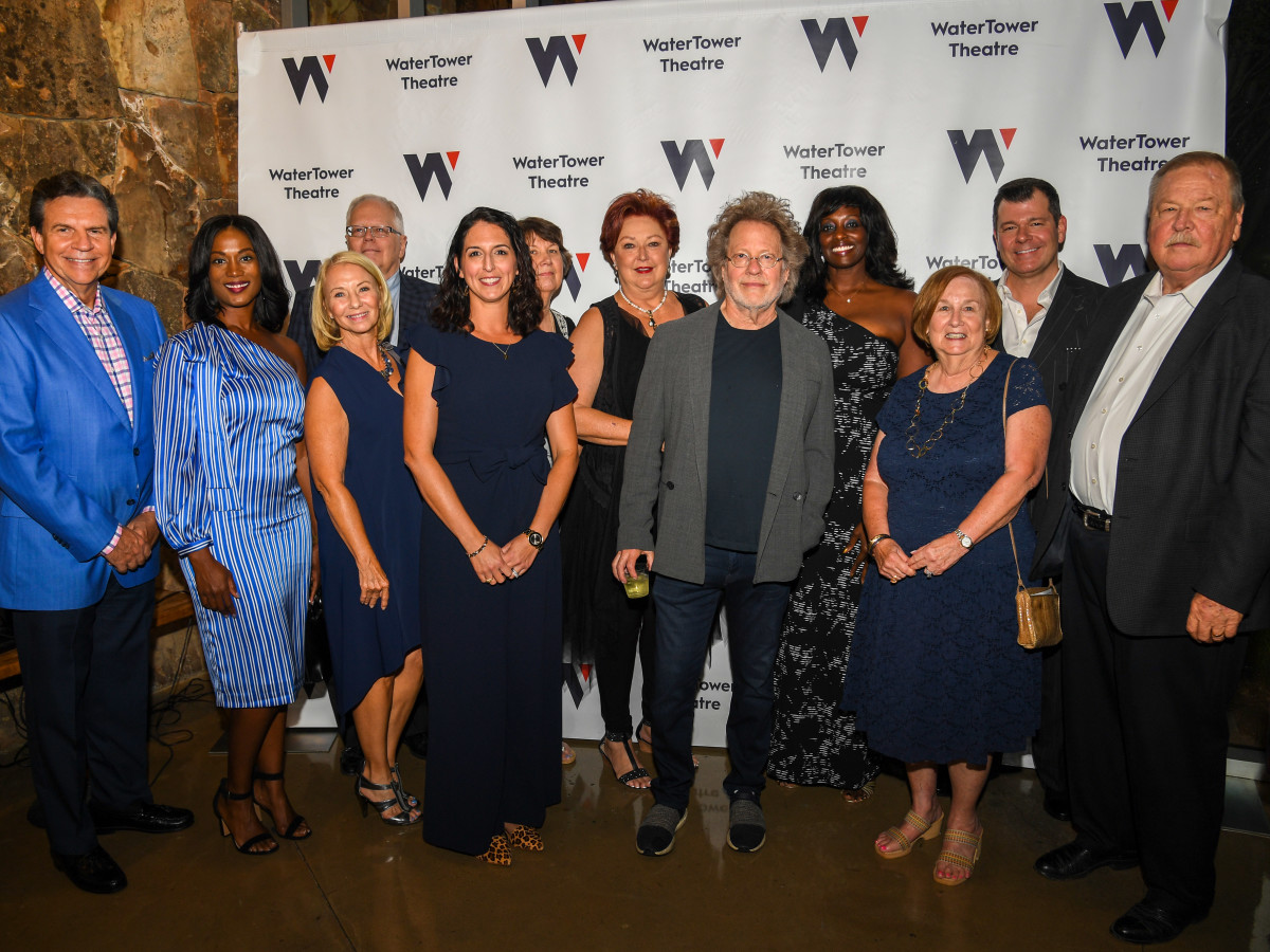 WaterTower Theatre board of directors with Steve Dorff