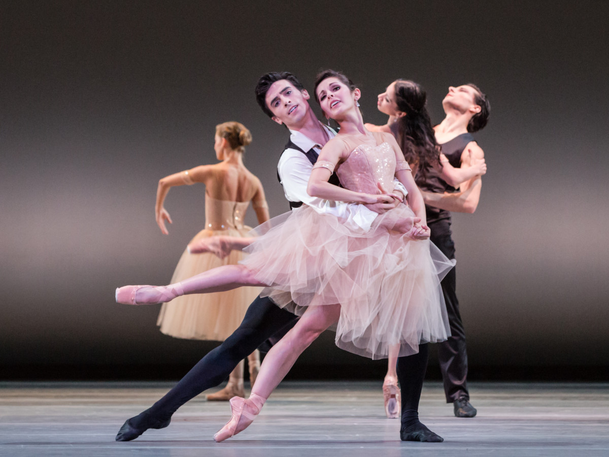 Artists of Houston Ballet in James Kudelka's Passion