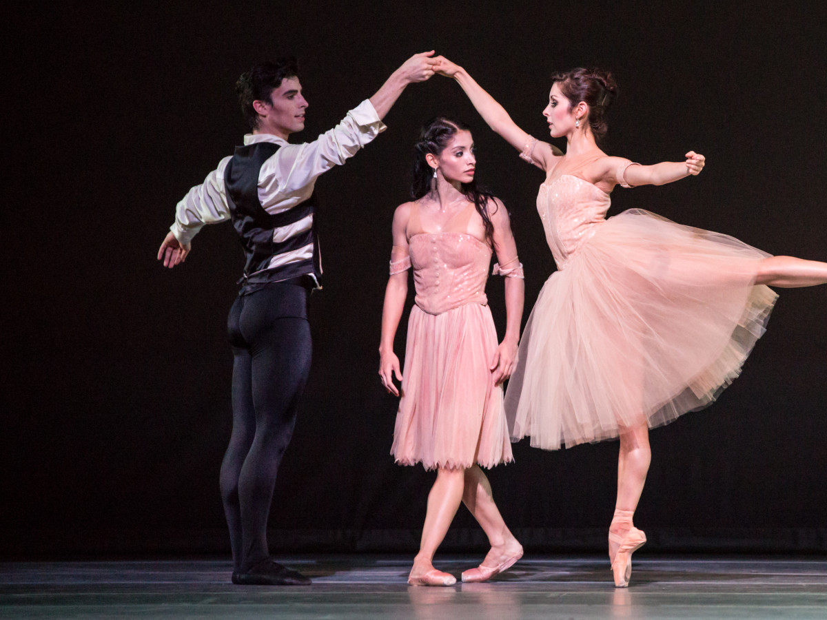 Joseph Walsh, Karina Gonzales and Lauren Strongin in James Kudelka's Passion
