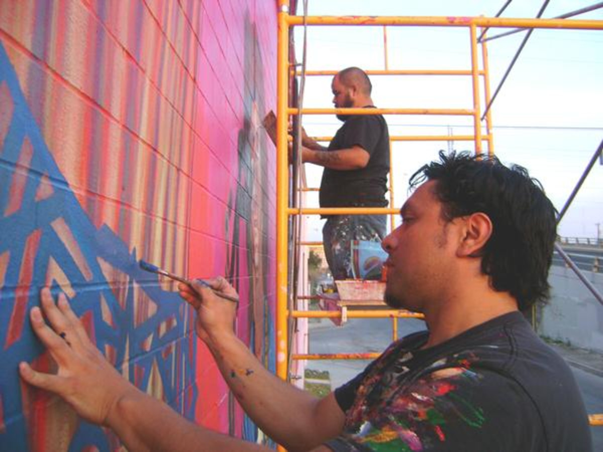 Artist David Blancas