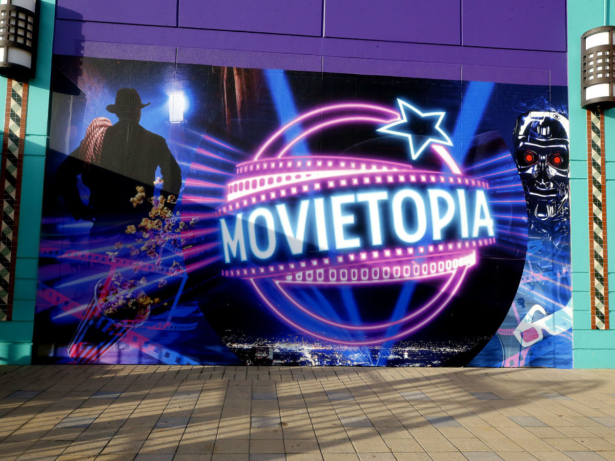 Movietopia Indiana Jones graphic logo