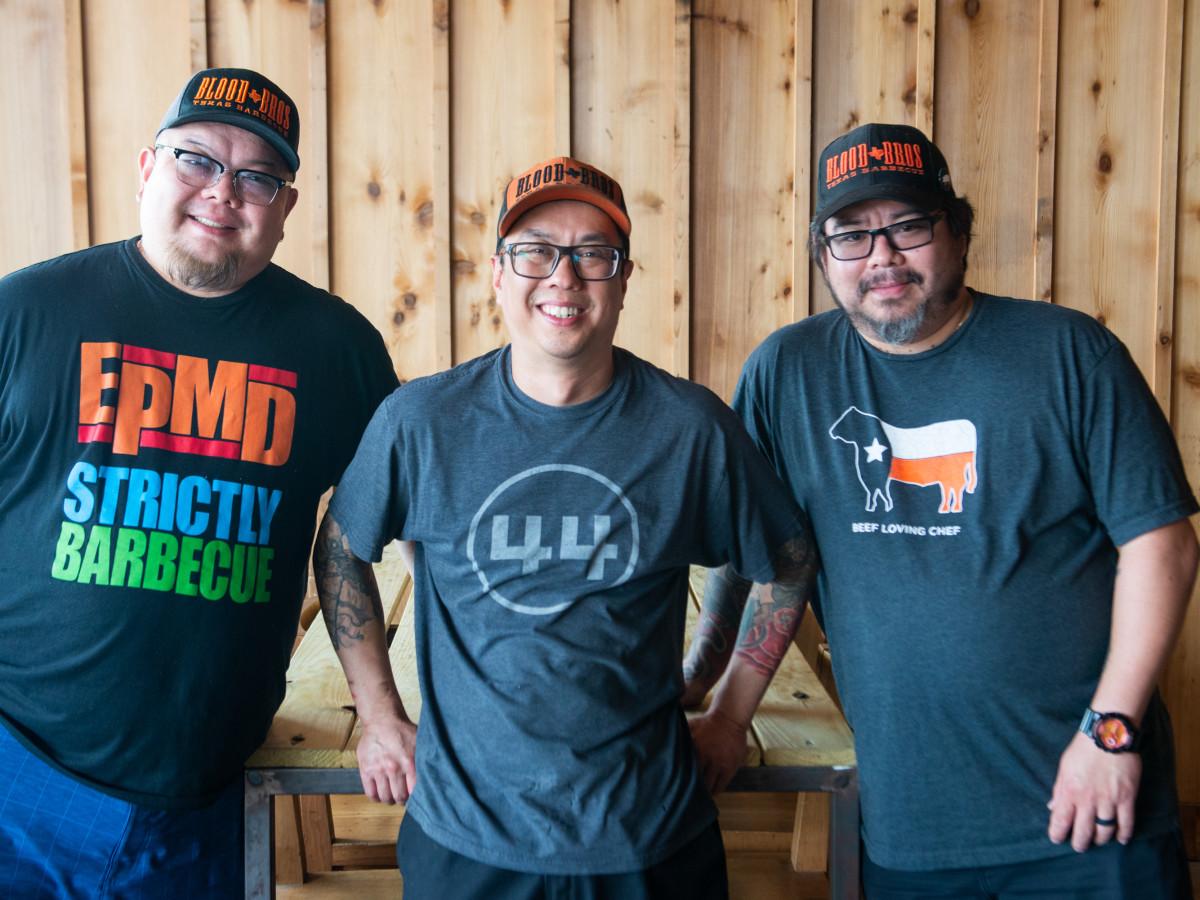 Blood Bros BBQ Terry Wong, Quy Hoang, Robin Wong