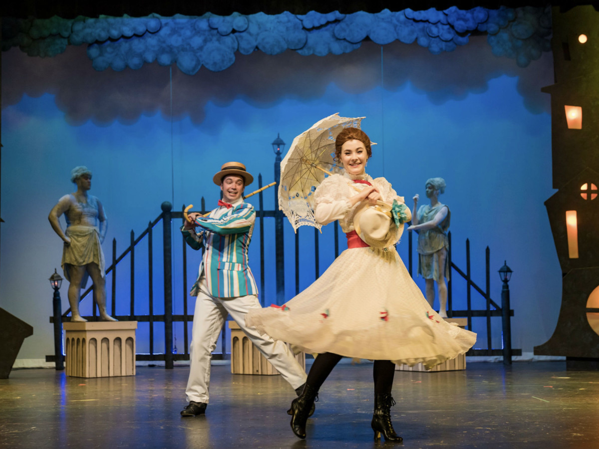 The Public Theatre of San Antonio presents Disney and Cameron Mackintosh's Mary Poppins