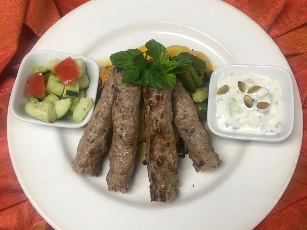 Indika Lamb Seekh kabab