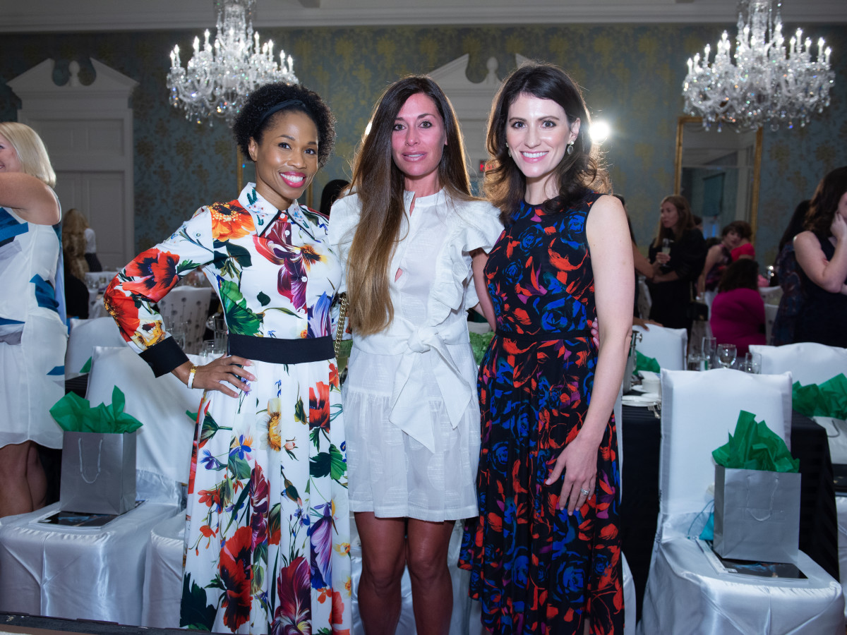 Fashion Unlocked Junior League Roslyn Bazzelle Mitchell, Elizabeth Dwyer, Savanna Bowman