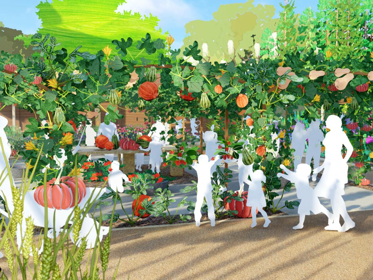 Houston Botanic Garden Edible Garden Children's Kitchen
