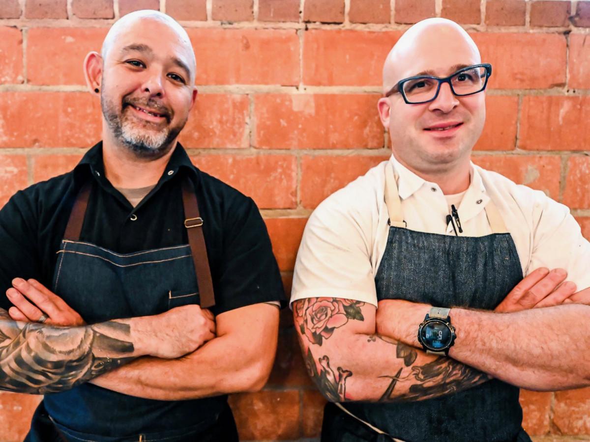 Benjy's Mike Potowski and Seth Siegel-Gardner