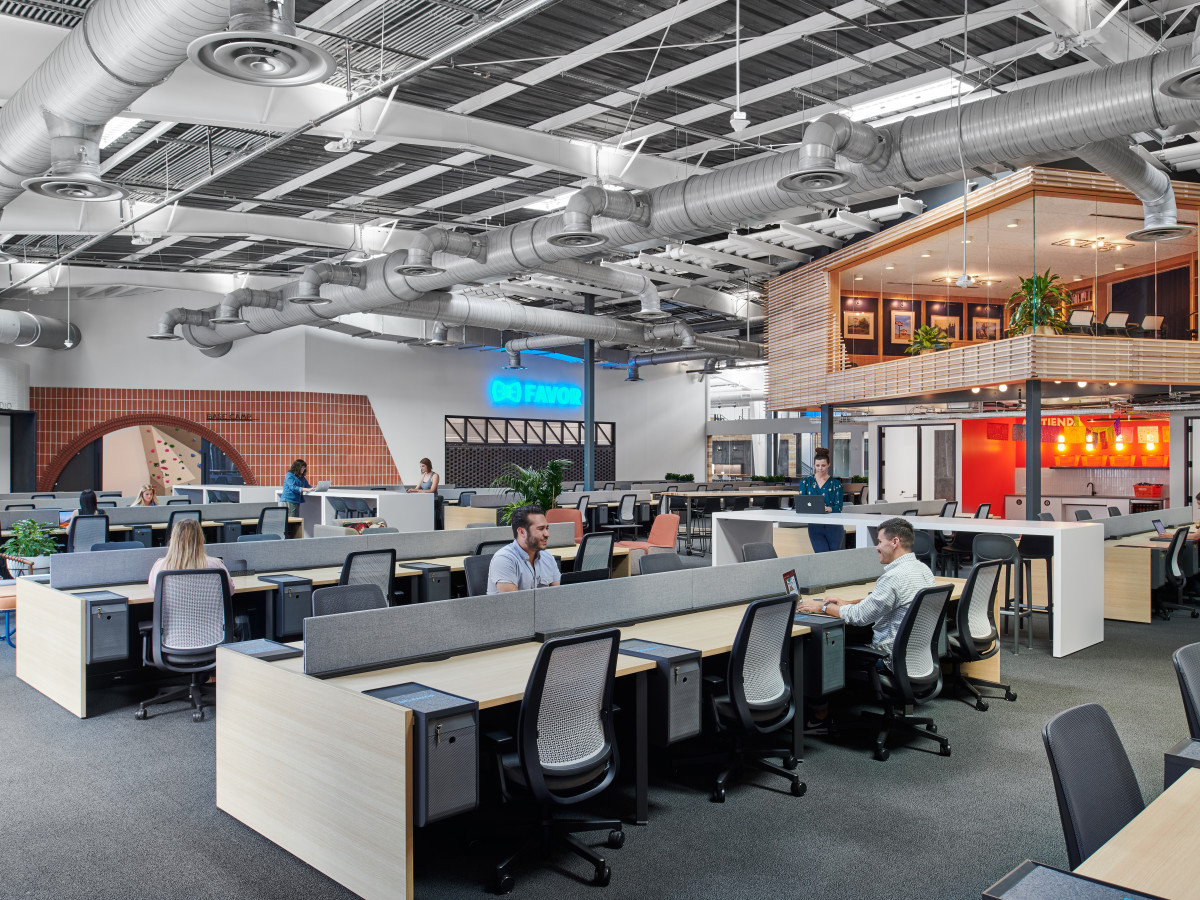 East Austin HEB tech hub workers H-E-B