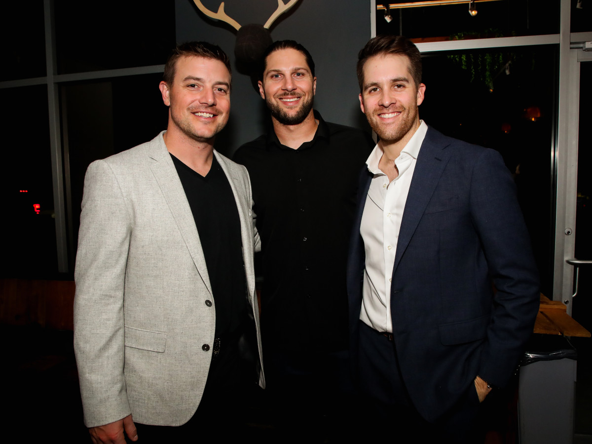 Houston Astros Collin McHugh Growing Good Urban Harvest Revival Market Joe Smith, Jake Marisnick and Collin McHugh