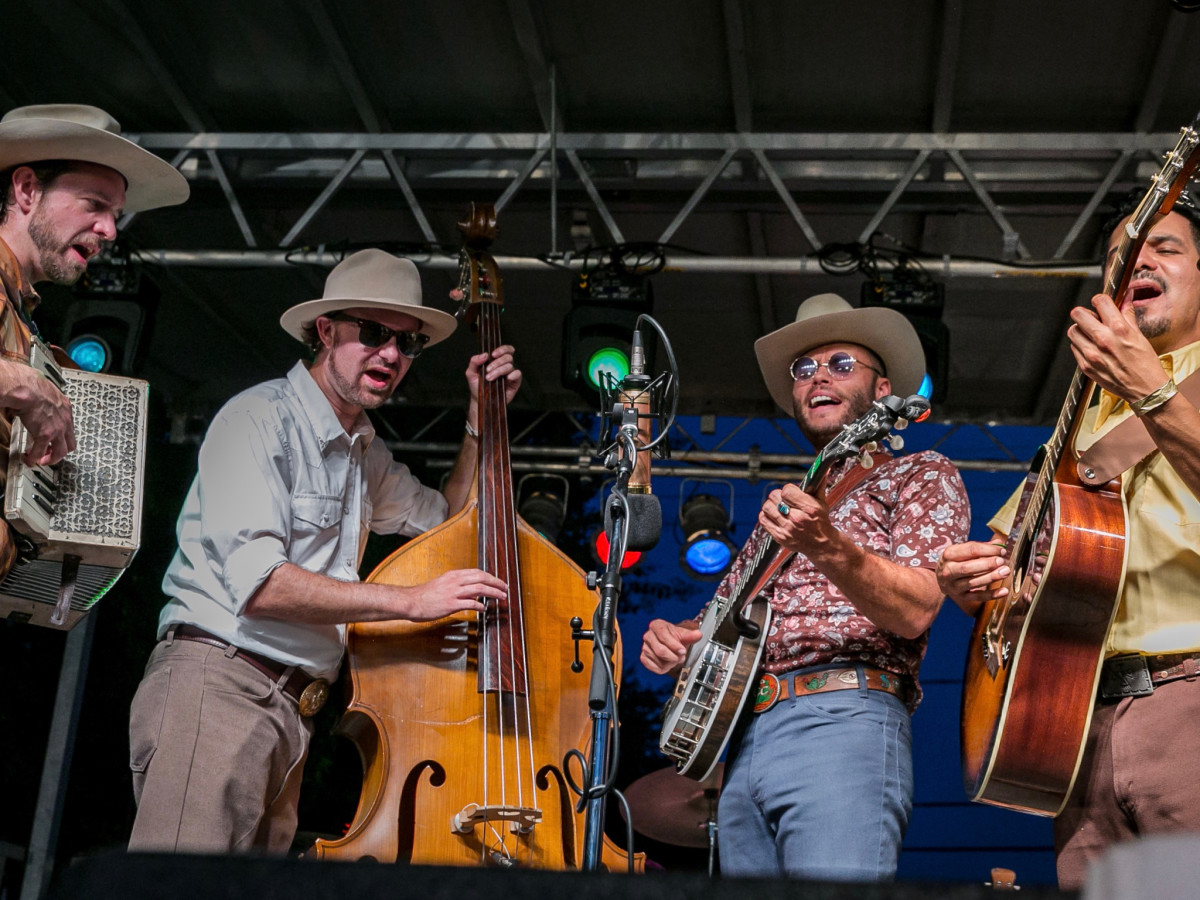 Southern Smoke 2019 Charley Crockett band