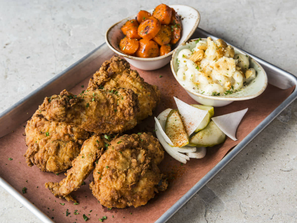 Pappas Delta Blues Smokehouse fried chicken