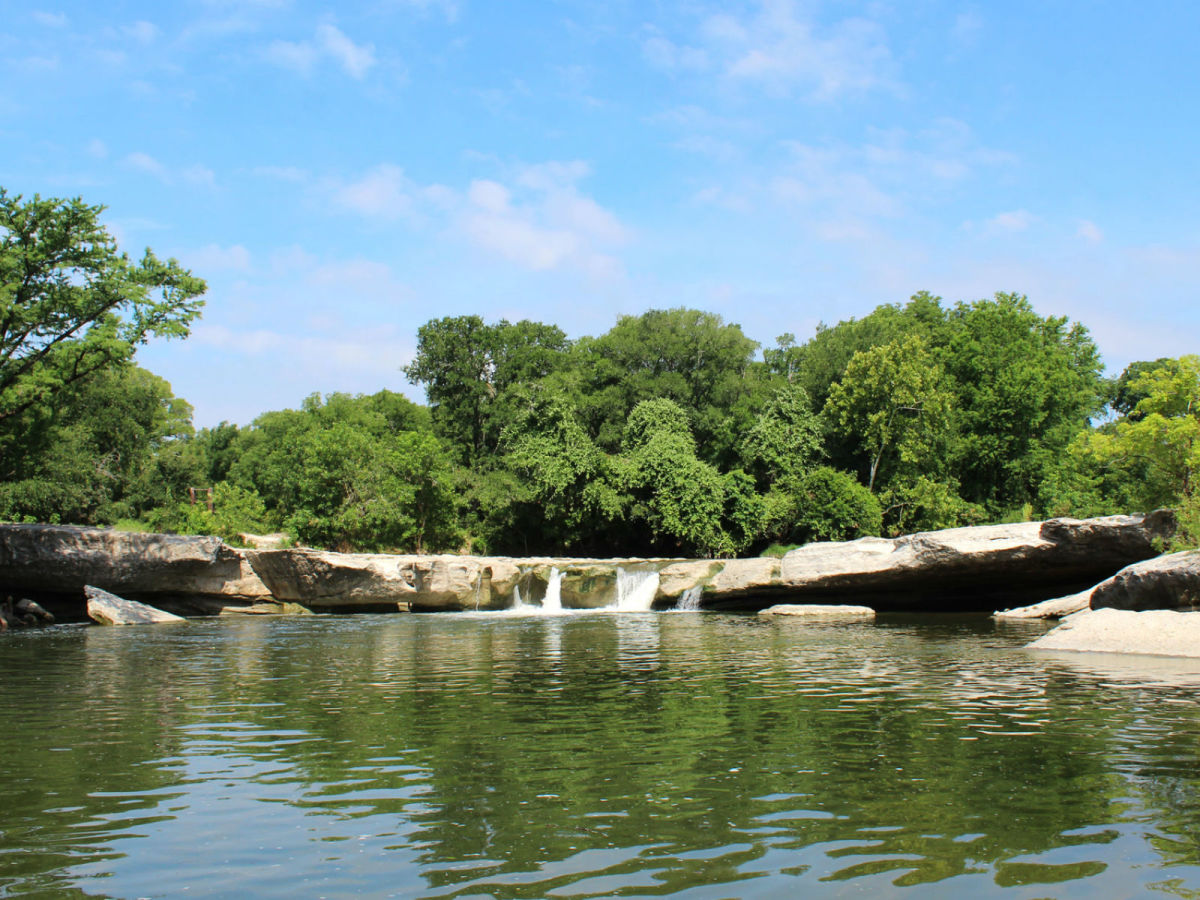 McKinney Falls State Park water swimming
