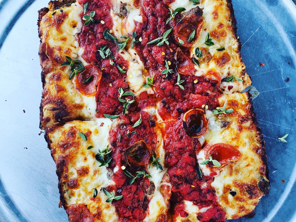Anthony Calleo Rudyard's pizza