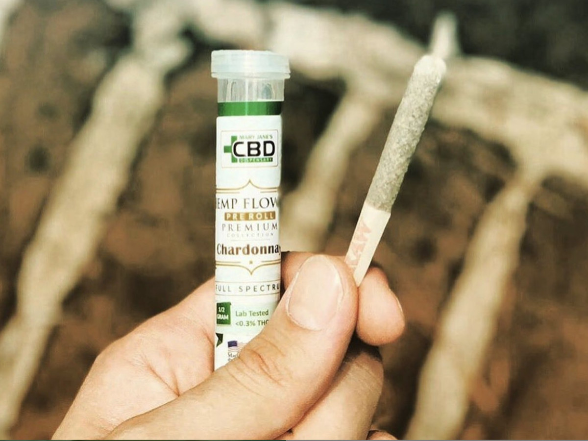 Mary Jane's CBD Dispensary CBD joint