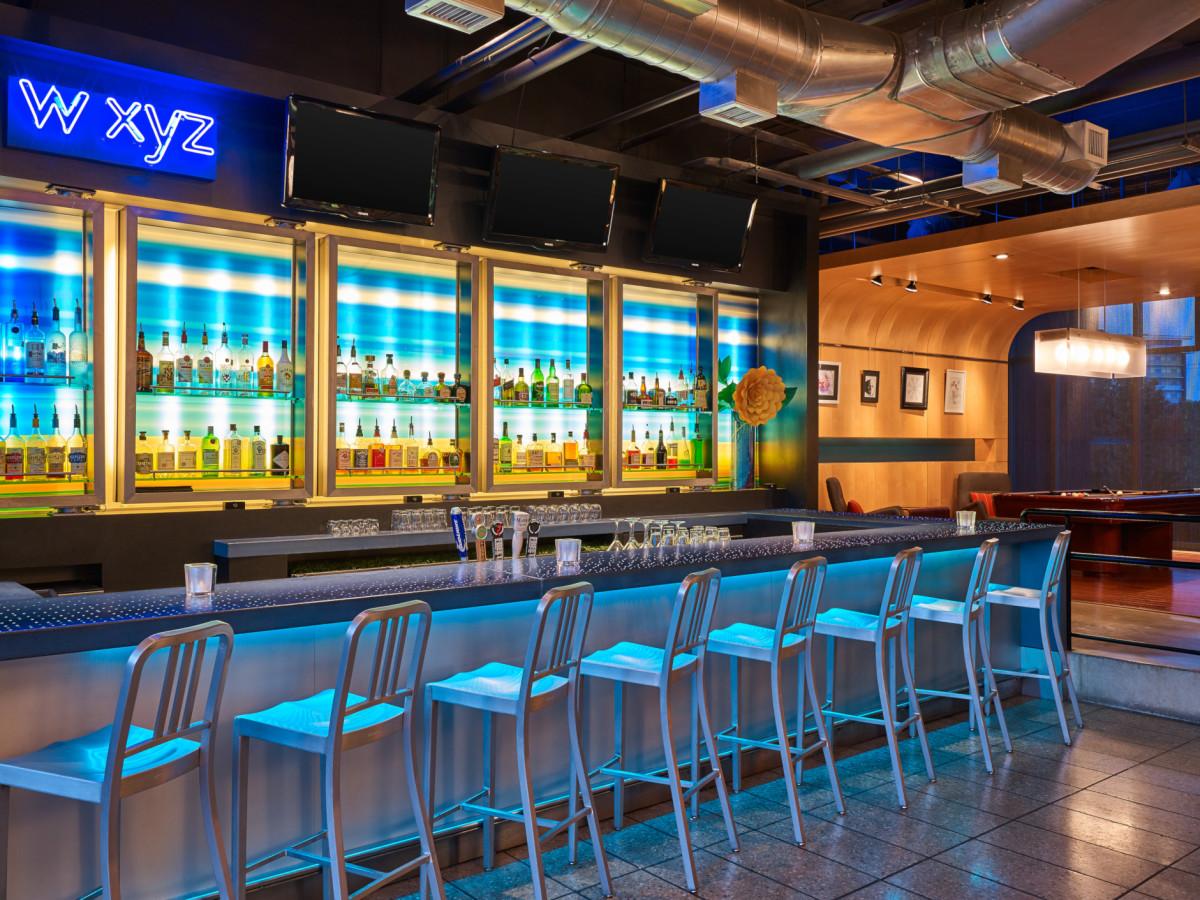 Aloft Plano wxyz bar