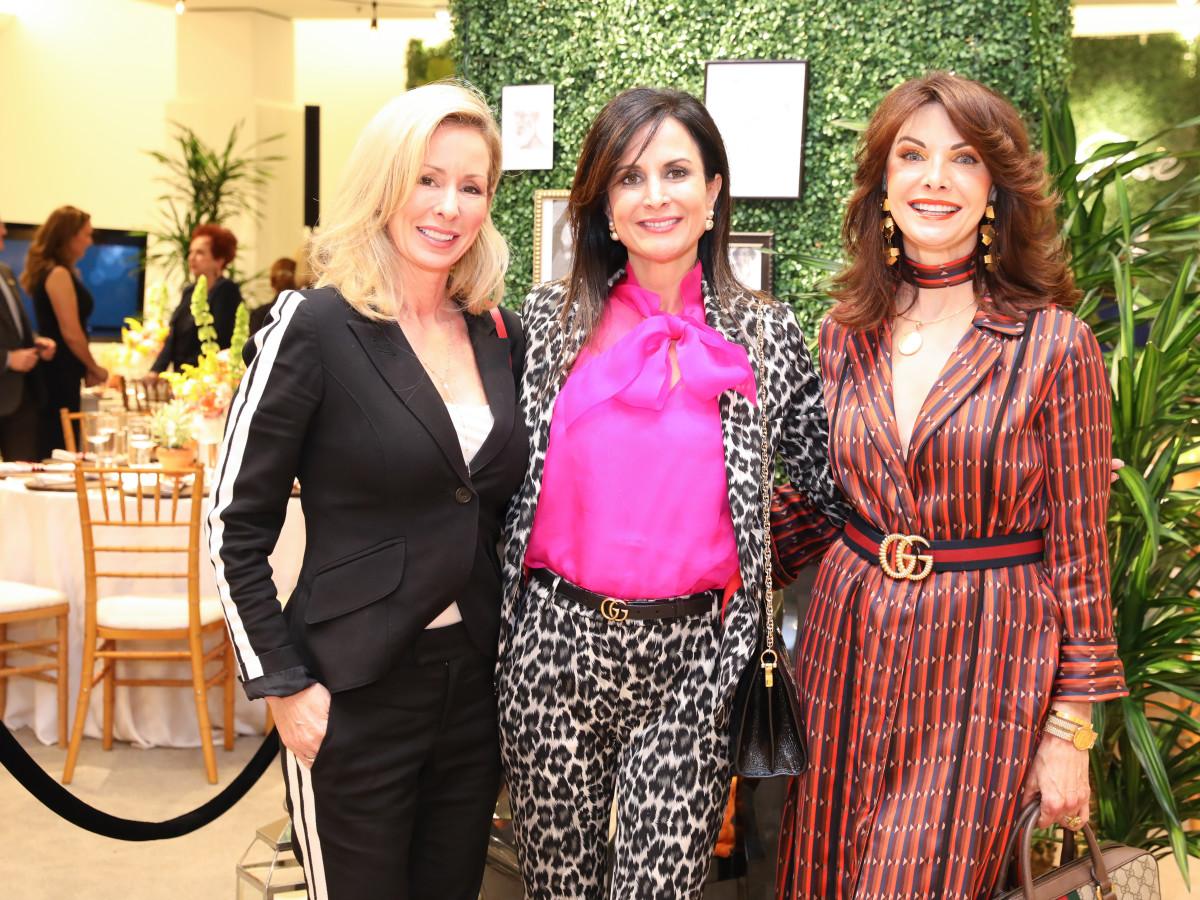 Lunch with Lela PetSet Gretchen Davis, Jennifer Grigsby, Marla Hurley