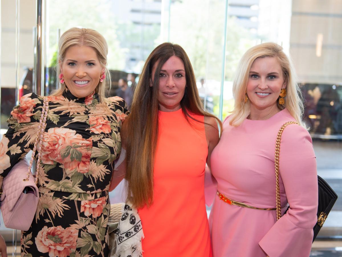 Razzle Dazzle Luncheon 2019 Amanda Boffone, Elizabeth Dwyer, Jennifer Allison